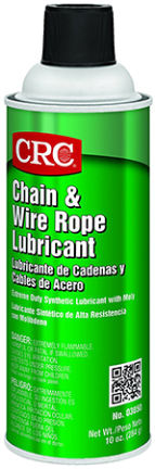 03050 Crc Chain   Wire Rope Lube