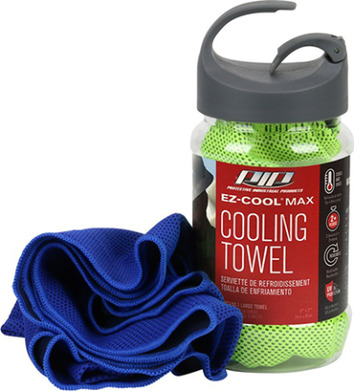 396-ez900-nv Cooling Towel 12 In X 33 In Bl