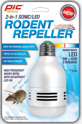 LED-RR REPELLER BULB RODENT LED