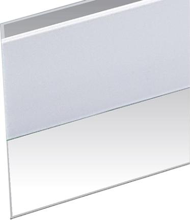 DS101CL DOOR BOTTOM SELF STICK 1 1/2 X 36 IN