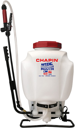 63800 BACKPACK SPRAYER POLY 4 GAL PRO SERIES