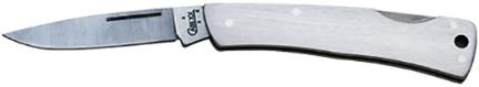 0004 Knife Executive Lockback Brushed Ss