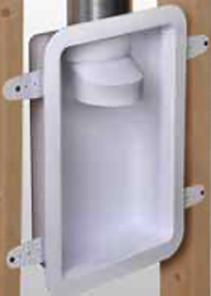 Drb4xzw Recessed Dryer Vent Box