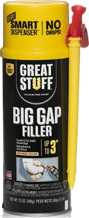 99108860 SPRAY FOAM 12 OZ BIG CAP SMART DISPNSR