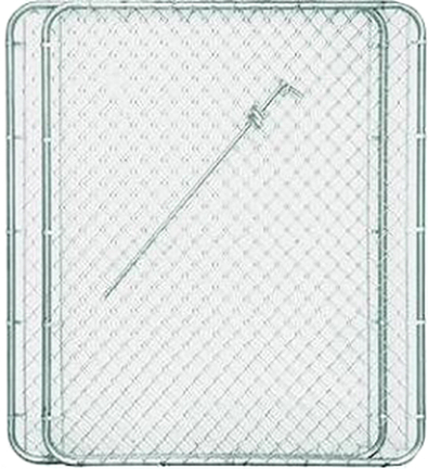 328404b 10 X72  11.5ga Drive Gate Bent Frame
