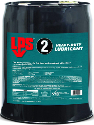 00205 5GAL LPS-2 INDUSTRIAL LUBRICANT