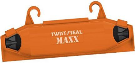 TSMX-OR-18P-CUT-SD TWIST SEAL MAX ORANGE 18 PC