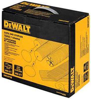 Dwcap5m 18ga Dewalt 5m Cap Staple Pack