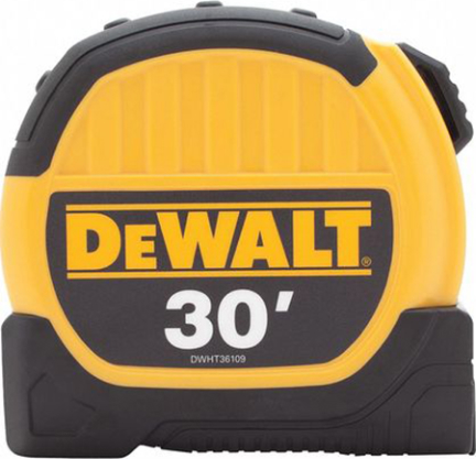 DWHT36109 TAPE MEASURE 1 1/8 IN 30 FT