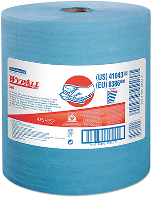 41043 WYPALL X80 JUMBO ROLL BLUE