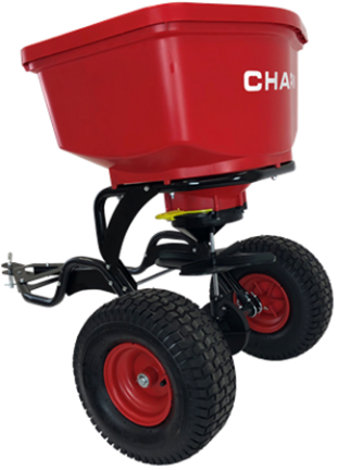 8620B SPREADER 150 LB TOW BEHIND RED