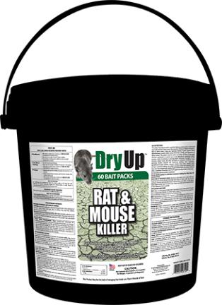Dry-buck  Rat And Mouse Killer Bait Packs