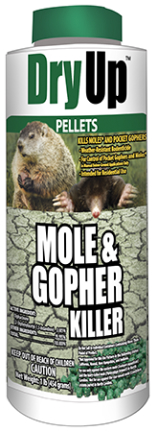 Dry-mole 1 Lb Pellets Mole And Gopher Killer