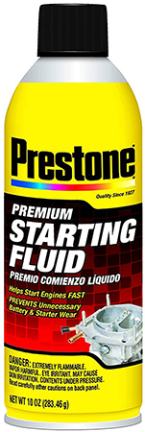 As237-6 Prestone Starting Fluid 10 Oz Pdq