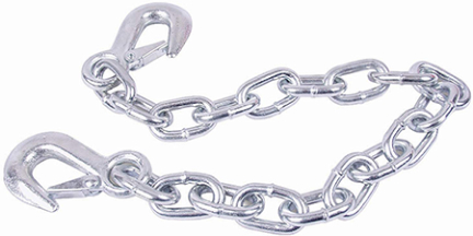 Ut200196 Safety Chain 3/16 X 36 In W/s Hooks