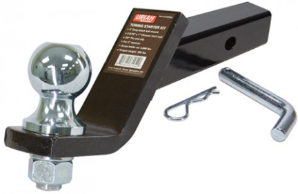 UT620054 FIXED TRAILER HITCH BALL MNT 4 IN DROP