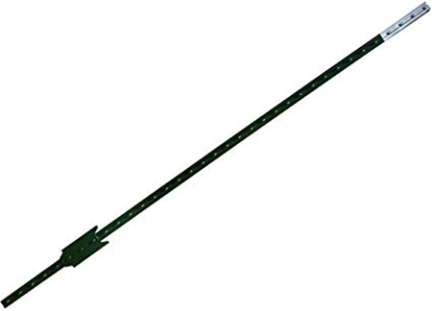 TG12506061 POST 6.5FT 1.25# USA GREEN T FENCE