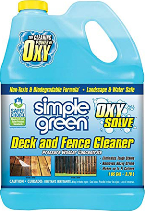 418231 S.G. 1 GAL CONT. PRES. WASH DECK/FENCE