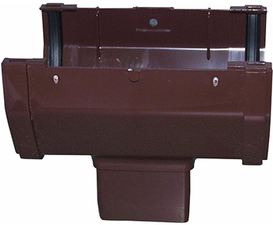 Rb104 Gutter Brown Drop Outlet