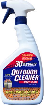 1Q30S 30 SECONDS OUTDOOR CLEANER 1 QT RTU 30