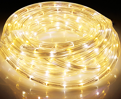 GT-RL-W3K5K ROPE LIGHTING 16 FT LED WT
