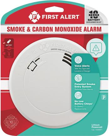 1039871 SMOKE/CO 10 YR COMBO W/VOICE