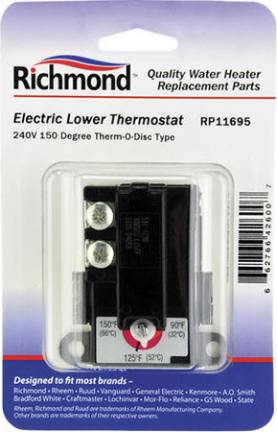 Rp11695 Thermostat Electric Lower