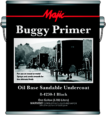 8-4230-1 BUGGY PRIMER OIL BASE SANDABLE BK GAL