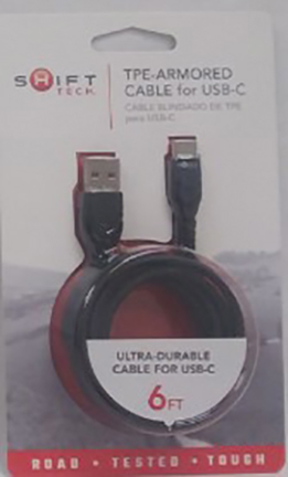 18352 Tpe Armored Cable For Usb-c 6 Ft055
