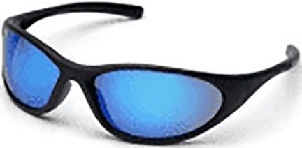 SB3365E SAFETY GLASSES ZONE II ICE BLUE MIRROR