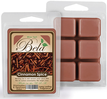 Bwm-04 Bela Wax Melt 2 1/2 Oz Cinnamon Spice