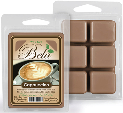 Bwm-03 Bela Wax Melt 2 1/2 Oz Cappucinno