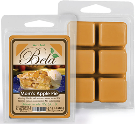 Bwm-08 Bela Wax Melt 2 1/2 Oz Mom S Apple Pie