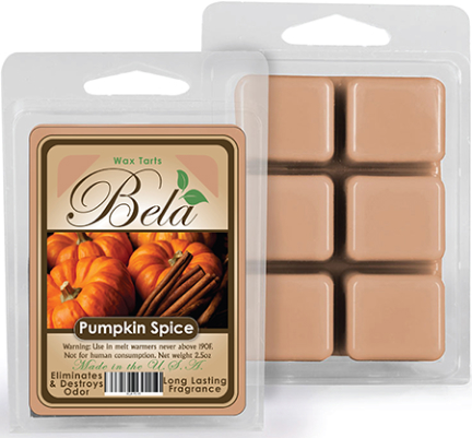 Bwm-09 Bela Wax Melt 2 1/2 Oz Pumpkin Spice