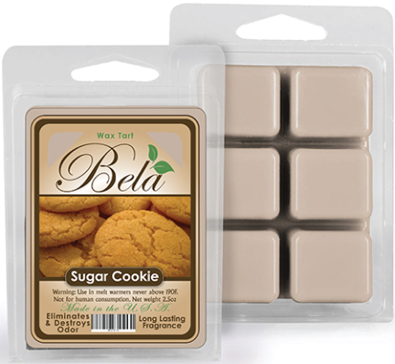 Bwm-10 Bela Wax Melt 2 1/2 Oz Sugar Cookie