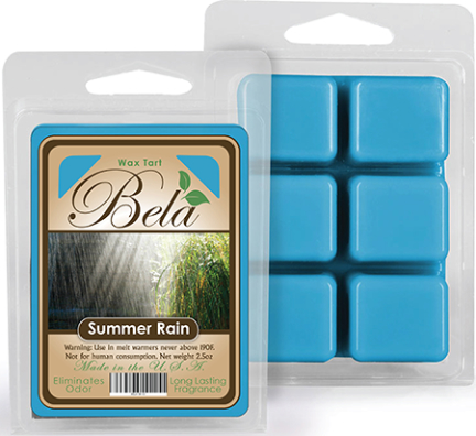 Bwm-11 Bela Wax Melt 2 1/2 Oz Summer Rain