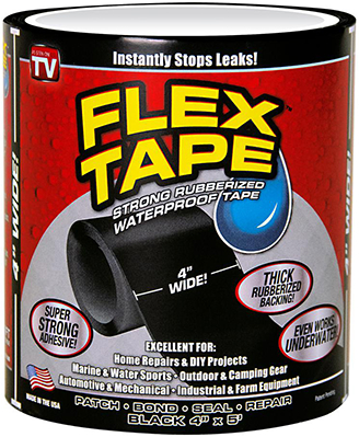 TFSGRYR0405 FLEX TAPE GY 4 IN X 5 FT
