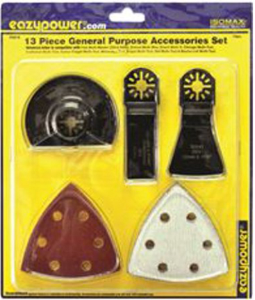 50614 Blade Oscillating 13 Pc Assorted Sanding