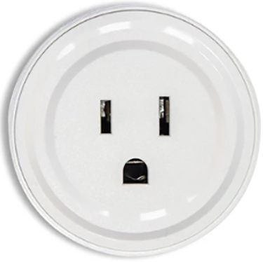 Plgwfw1 2 1/8 In Wifi Wh Matte Single Wall Plug