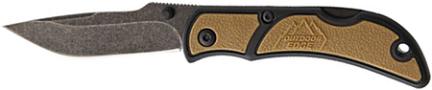 CHC-25C KNIFE 2 1/2 IN CHASM BRN SM PLAIN EDGE