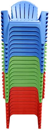 8371-50-3712 Chair Adiro Ndack Mixed Stack
