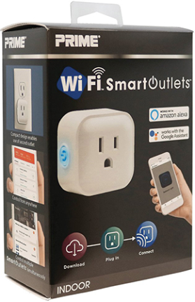 Rcwfii11 1 Outlet Indoor Wifi Control