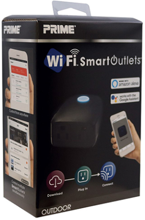 Rcwfio 2 Outlet Outdoor Wifi Control