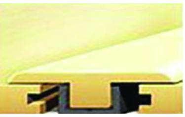 919-5 AMER WL RGD VNYL FLRING T-MOLD