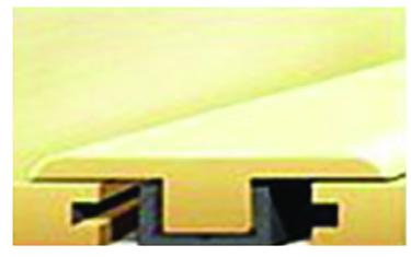 115-11 WDLND OAK RGD VNY FLRING T-MOLD