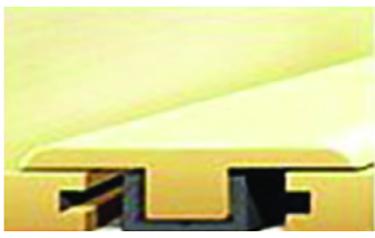 927-1 RANCH HS RGD VNYL FLRING T-MOLD