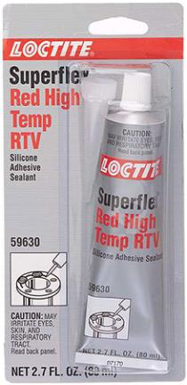 135507 SILICONE SEALANT RTV 80ML RED