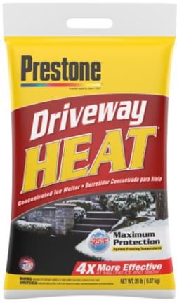 AS-520 20# BAG PRESTONE DRIVEWAY HEAT