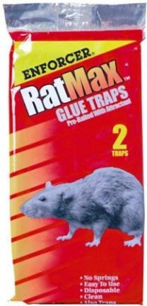 RM2 RATMAX RAT   MOUSE GLUE TRAPS 2PK