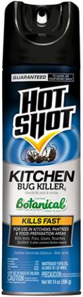 HG4470 HOT SHOT KITCHEN  BUG KILLER AEROSOL 14OZ
